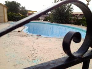 The pool at the Royal Inn, Tucumcari, NM, July 6, 2013