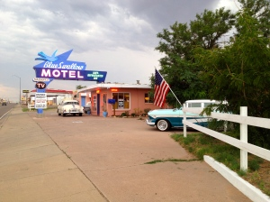 The Blue Swallow Motel, Tucumcari, NM, July 6, 2013