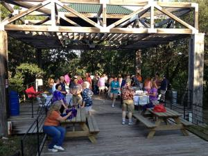 "Concordia 80's era alumni enjoying fellowship on ""The Pier"". Photo credit: Concordia University Texas"