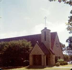 Concordia chapel circa about 1980. Photo credit: CLC alumnus Penny B.