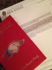 Accepted to the University of Arkansas!