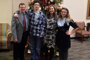 Merry Christmas from my family to yours. Taken at First Baptist Church, Keller, TX 12.24.2013