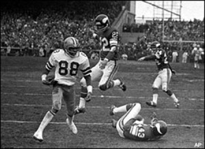 drew pearson hail mary photo
