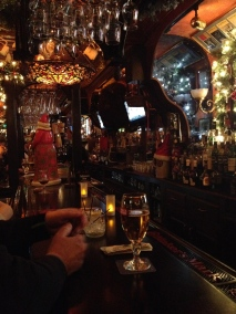 Moriarty's decorated for the holidays. 1.2.2014