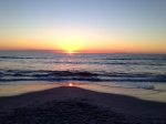 A beautiful Naples Beach sunset on Valentines Day!