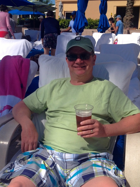 """Enjoyed a cold Yuengling. One, because I like it and, two, because I enjoy saying """"Yuengling""""!"""