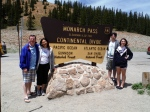 The family at the Continental Divide, Monarch Summit, CO 6.26.2014