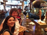 "My wife and our friends soaking up the ambience and a ""Buffalo Butt"" beer at  Booger Red's Saloon 7.4.2014"