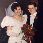 My lovely bride and me. 12.28.1991