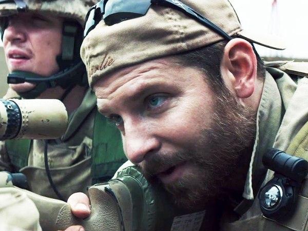 """Bradley Cooper as Chris Kyle in """"American Sniper"""""""