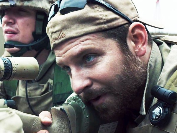 "Bradley Cooper as Chris Kyle in ""American Sniper"""
