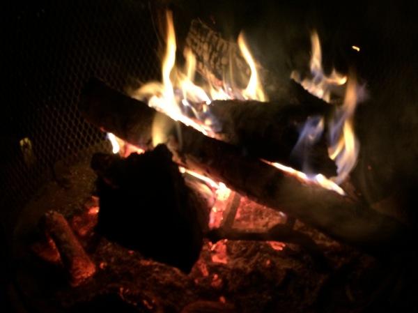 Texas campfire