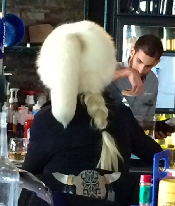 Now THAT's a hat! Breckenridge 2.25.2015