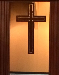The cross at First Baptist Church of Keller