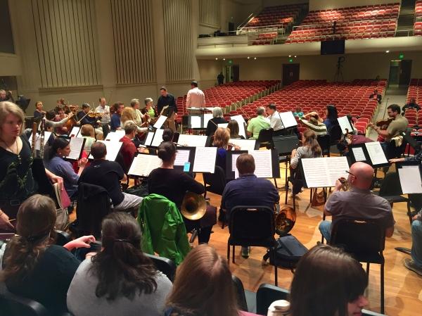 Brahms Requiem rehearsal, 4.17.2015