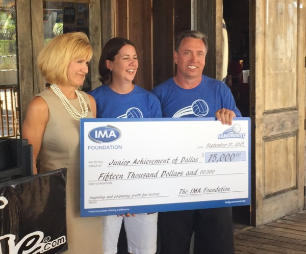 Sandblast 2015 raised $15,000 for Junior Achievement Dallas!